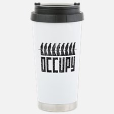 OCCUPY birds-on-wire Stainless Steel Travel Mug