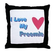preemie Throw Pillow