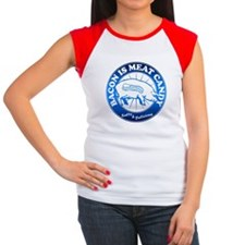Bacon Is Meat Candy Women's Cap Sleeve T-Shirt