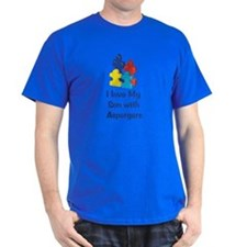 Love Aspergers Son T-Shirt