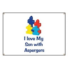 Love Aspergers Son Banner