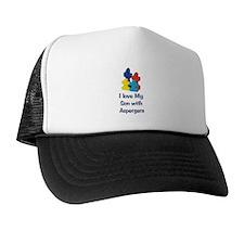 Love Aspergers Son Trucker Hat