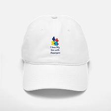 Love Aspergers Son Baseball Baseball Cap