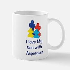 Love Aspergers Son Mug