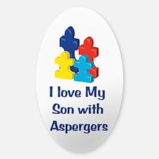 Love Autism Son Bumper Stickers