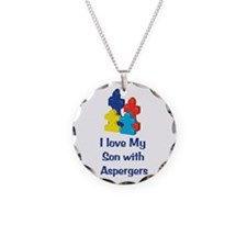 Love Aspergers Son Necklace