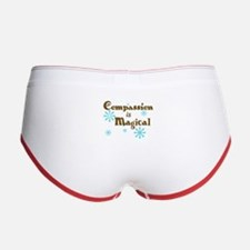 Compassion is Magical Women's Boy Brief