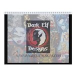 Dark Elf Designs Wall Calendar