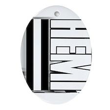 HEMI HEMI Ornament (Oval)