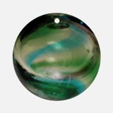 Sea Witch Glass Ornament (Round)