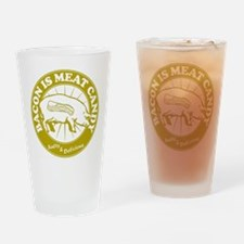 Bacon Is Meat Candy Drinking Glass