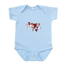 Lots of Hearts Infant Bodysuit