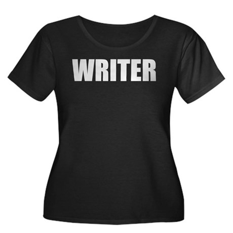 Writer Women's Plus Size Tee