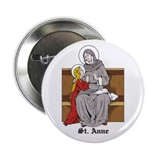 "St. Anne 2.25"" Button (10 pack)"