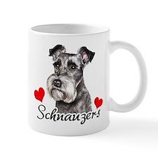 Love Schnauzers Mug