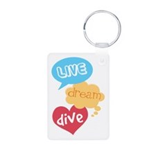 Diving Gift Keychains