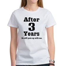 3rd Anniversary Funny Quote Tee