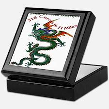 Tail Of The Dragon Keepsake Box