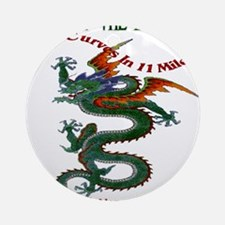 Tail Of The Dragon Ornament (Round)