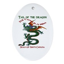 Tail Of The Dragon Ornament (Oval)