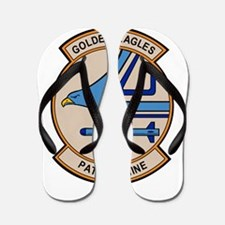 VP-9 Golden Eagles Flip Flops