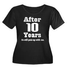 10th Anniversary Funny Quote T
