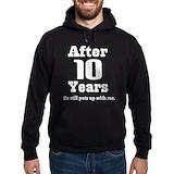 10th anniversary Hoodie (dark)