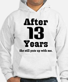13th Anniversary Funny Quote Hoodie