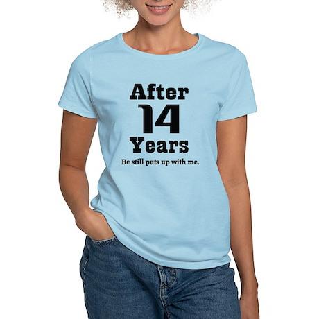 14th Anniversary Funny Quote Women's Light T-Shirt