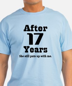 17th Anniversary Funny Quote T-Shirt