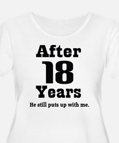 18th Anniversary Funny Quote T-Shirt