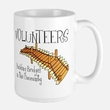Building Bridges Large Mug