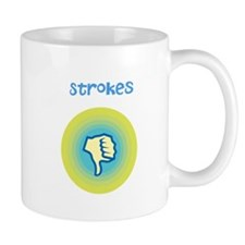 Thumbs Down Strokes Mug