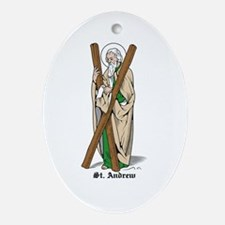 St. Andrew Oval Ornament