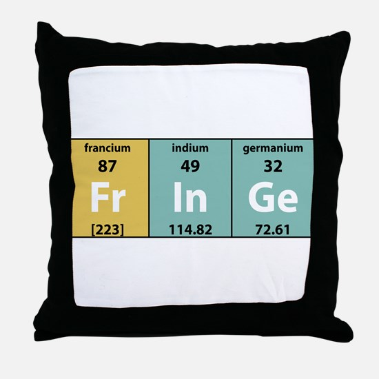 Chemical Fringe Throw Pillow