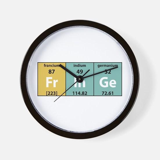 Chemical Fringe Wall Clock