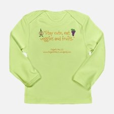 Long Sleeve baby T-Shirt (Veg and fruit)