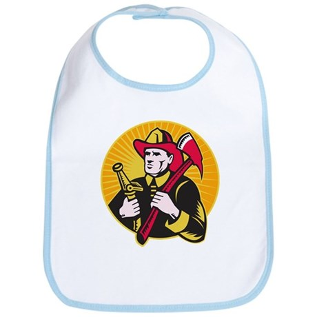 fireman firefighter Bib
