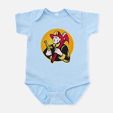 fireman firefighter Infant Bodysuit