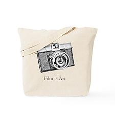 Diana Camera - Film is Art Tote Bag