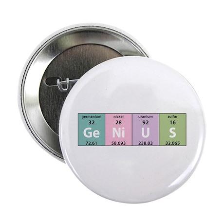 Chemical Genius Button