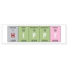 Chemical Hippy Bumper Bumper Sticker