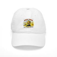 Mark Twain Cigar Label Baseball Cap