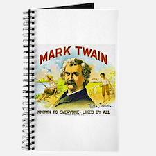 Mark Twain Cigar Label Journal