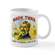 Mark Twain Cigar Label Mug