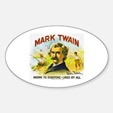 Mark Twain Cigar Label Decal