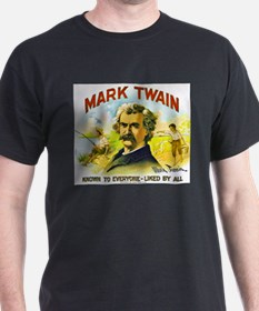 Mark Twain Cigar Label T-Shirt