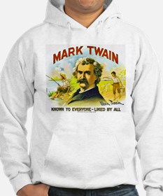 Mark Twain Cigar Label Hoodie