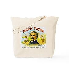 Mark Twain Cigar Label Tote Bag