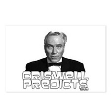Criswell Predicts Postcards (Package of 8)